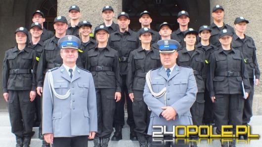 Opolski garnizon ma 18 nowych stróżów prawa