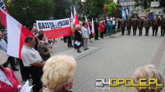 Opolanie pamiętają o rocznicy sowieckiej agresji na Polskę