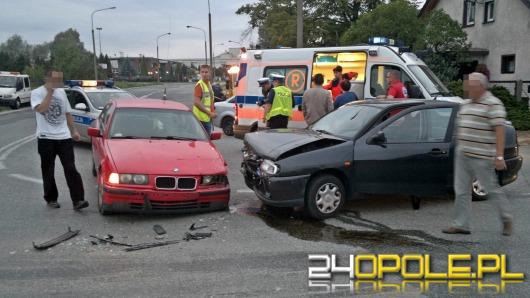 Kolejne zderzenie na skrzyżowaniu ulicy Grudzickiej ze Wschodnią