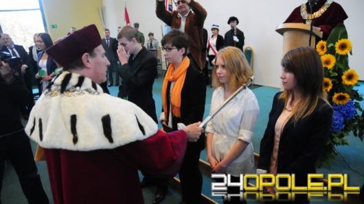 Rektor Nicieja rozpoczął rok akademicki na Uniwersytecie Opolskim