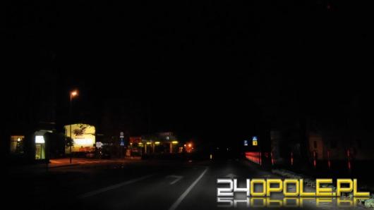 Egipskie ciemności w centrum Opola