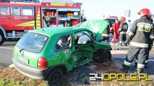 Kolejny wypadek we Wrzoskach - jedna osoba została ranna