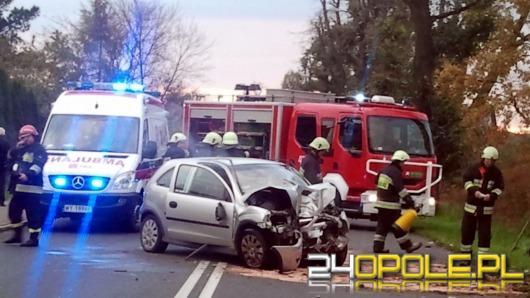 Dwa wypadki na jednej ulicy
