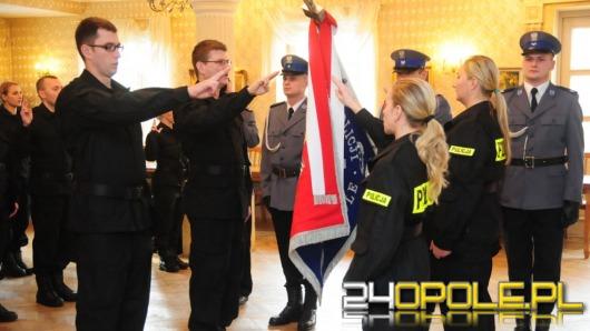 Nowi policjanci w opolskim garnizonie