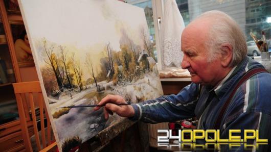 Pomagał rysować Bolka i Lolka, dziś kopiuje dzieła najlepszych malarzy świata