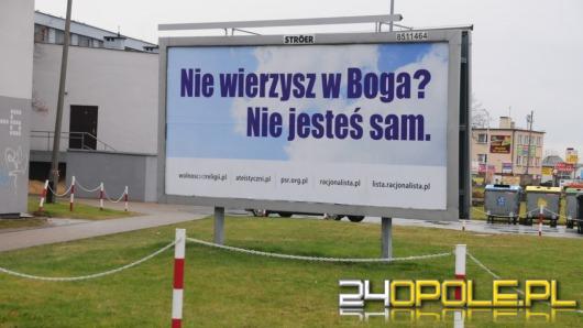 Ateistyczny billboard budzi kontrowersje