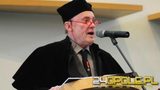 Daniel Olbrychski doktorem honoris causa Uniwersytetu Opolskiego