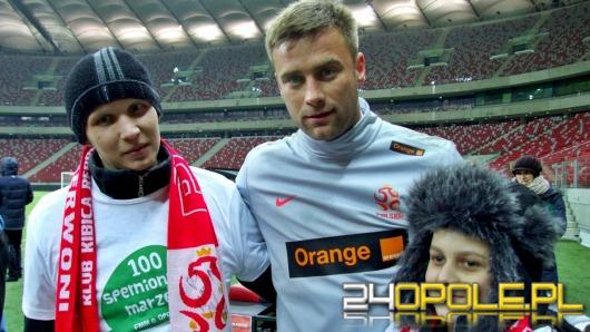 Piłkarze reprezentacji Polski spełnili marzenia młodych Opolan