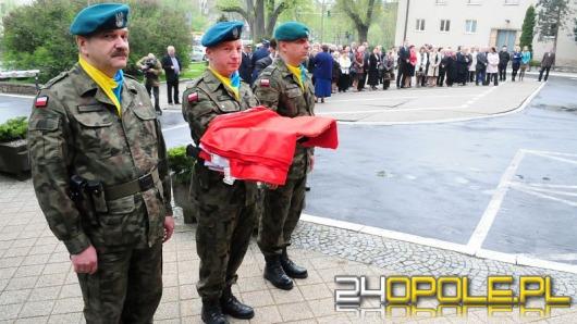 Obchody Święta Flagi pod Urzędem Wojewódzkim
