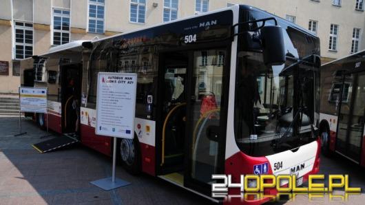 MZK Opole kupiło nowe autobusy. Na ulice wyjadą w listopadzie.