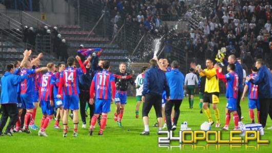 Odra Opole jedną nogą w II lidze