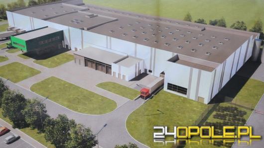 Rusza budowa kolejnej fabryki w Opolu. Pracę ma w niej znaleźć 200 osób.