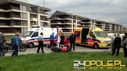 Motocyklista ciężko ranny po zderzeniu z koparką
