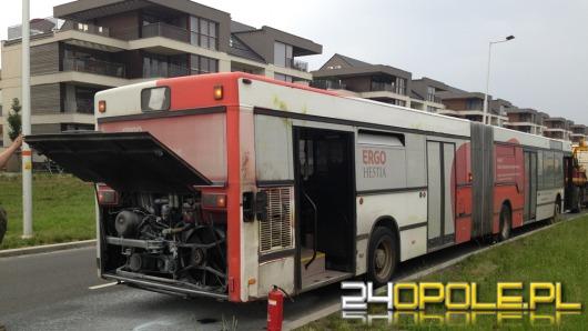 Kolejny pożar autobusu MZK w Opolu