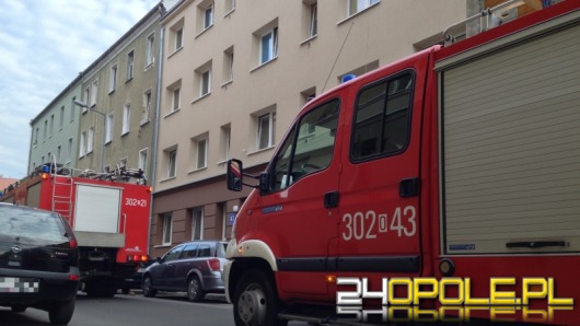 Pożar w kamienicy przy ul. Bończyka
