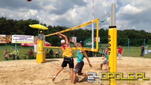 Najlepsi zawodnicy siatkówki plażowej rywalizują w Krapkowicach