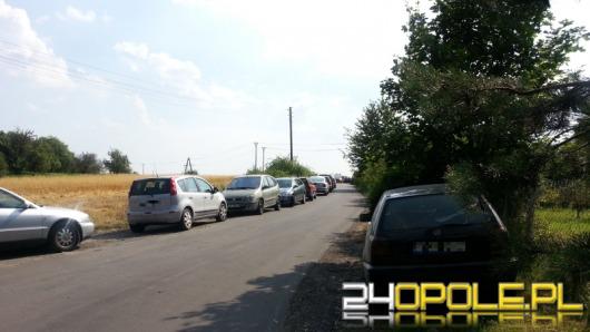 Parkingowy koszmar przy kąpielisku Bolko w Opolu