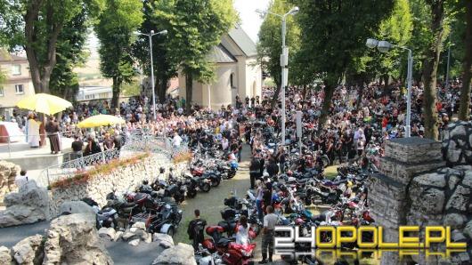 Tysiące motocyklistów na Górze Św. Anny