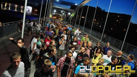 Nocne rolkowanie na ulicach Opola