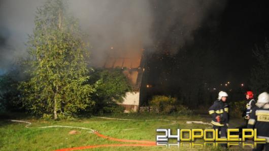 Tragiczny pożar w Opolu, jedna osoba nie żyje