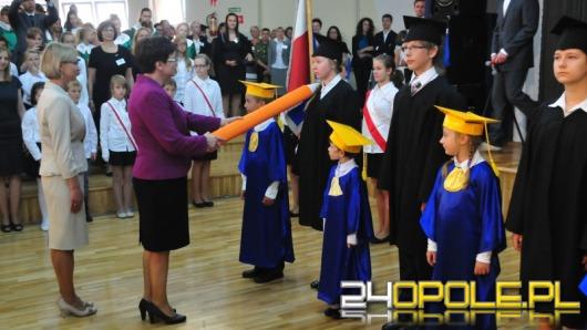 Minister Edukacji Narodowej otworzyła w Opolu rok szkolny