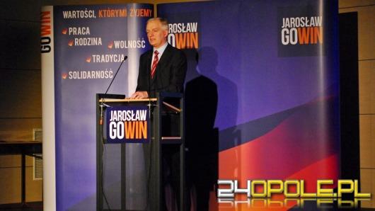 Jarosław Gowin: Opole nie ma perspektyw dla młodych