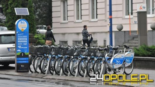 Miejskie rowery w Opolu wypożyczono już ponad 100 tysięcy razy