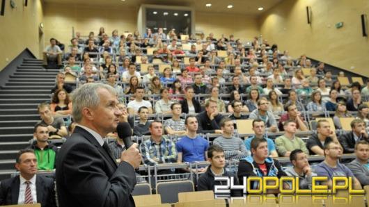 Ludzie biznesu uczą studentów Politechniki Opolskiej