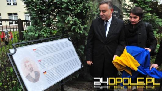 Opole uczciło Leo Baecka pamiątkową tablicą