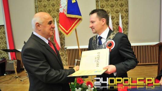 Profesor Jerzy Skubis i ksiądz Marian Niemiec zasłużeni dla Opola