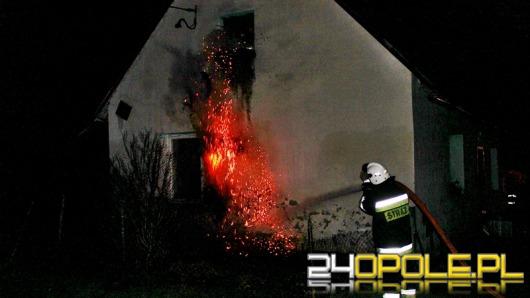 Dwa pożary w Gierałcicach. Podpalenie?