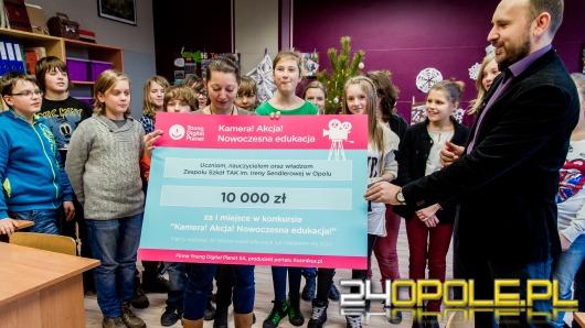 Szóstoklasiści z Opola odebrali nagrodę za najlepszy film