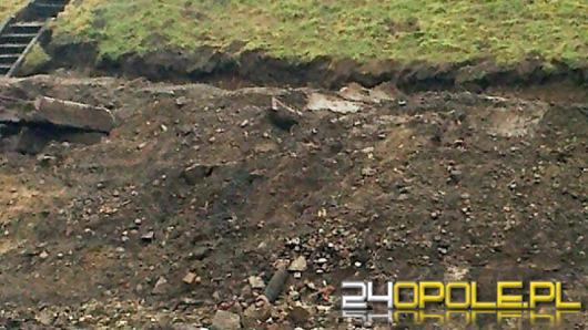 Podczas prac przy wałach w Nysie znaleziono niewybuch
