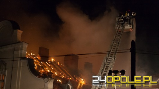 Pożar pałacu w Turawie