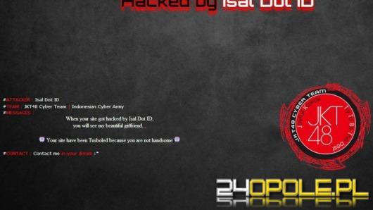 Strona Odry Opole zaatakowana przez hakerów