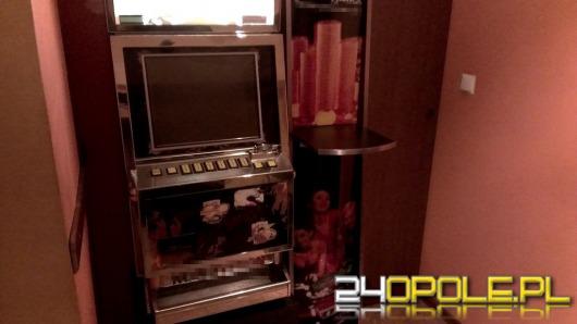 Policjanci zarekwirowali nielegalne automaty do gier