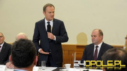 Donald Tusk w Opolu: Zaczynamy odważnie i na nowo przygodę z węglem