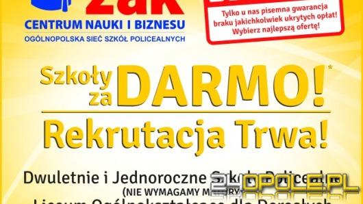 Ucz się za darmo! Centrum Nauki i Biznesu ŻAK w Opolu.