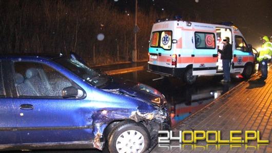 Pijany kierowca wjechał w samochód na ul. Oświęcimskiej