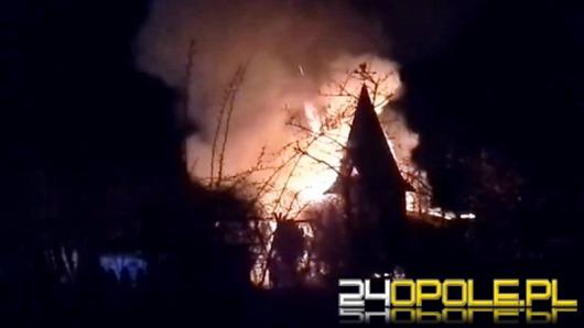 Dwie altanki spłonęły na działkach przy ul. Luboszyckiej
