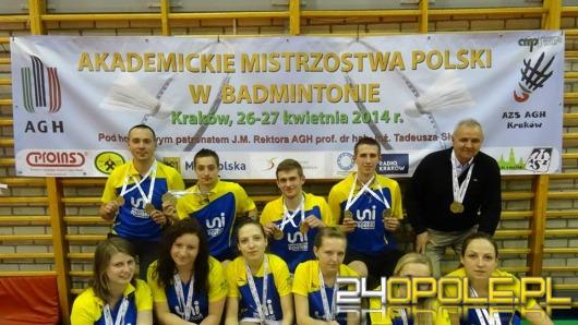 Opolscy studenci mistrzami Polski w badmintonie