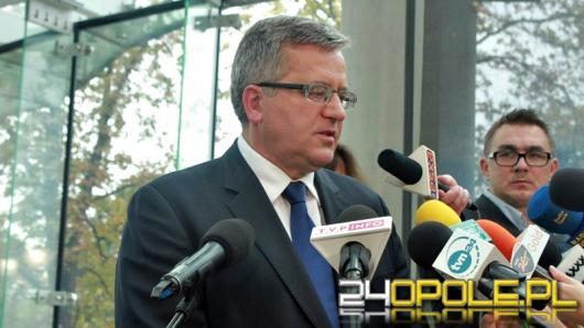 Prezydent Bronisław Komorowski przyjedzie do Opola