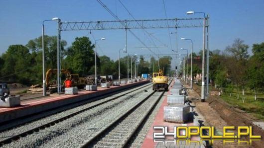 Remont torów na trasie Opole - Fosowskie z opóźnieniami