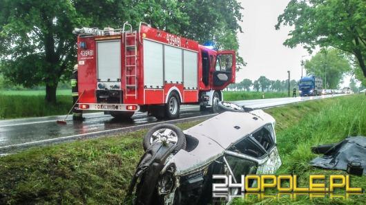 Trzy osoby ranne w wypadku pod Byczyną
