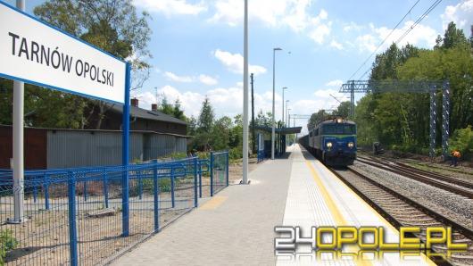 Prace na linii Opole Groszowice-Błotnica Strzelecka na półmetku