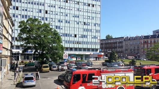 Alarm bombowy w biurowcu przy ul. Ozimskiej