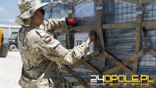 Opolscy logistycy wycofują wojskowe mienie z Afganistanu