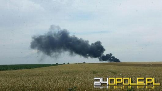 Pożar w gospodarstwie rolnym przy ul. Oleskiej