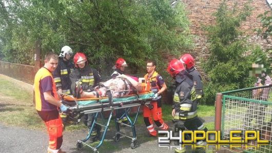 Kobieta ranna w wypadku pod Opolem