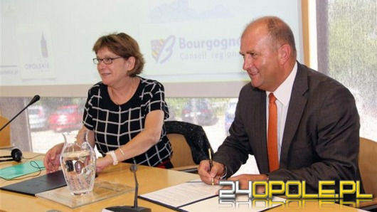 Marszałek województwa podpisał porozumienie z Burgundią
